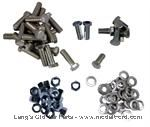 Model T Oil pan bolt and nut set, This non-original style bolt set. - 3100BS-RE