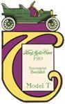 Model T Ford Motor Cars, Souvenir Booklet, 1910 - FSL12A