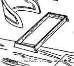 Model T Seat riser for speedster body kit - NO.812
