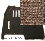 Model T Front carpet/Coupe/brown wool - FCC1A25-BRN