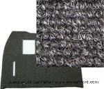 Model T Front carpet/Coupe/gray wool - FCC1A25-GRAY