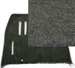 Model T Front carpet, Coupe, gray nylon KIT - FCC1A251