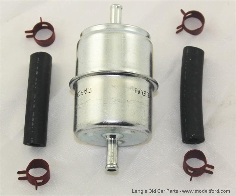 Model T Fuel Filter Kit  In Line Mount  2902filt
