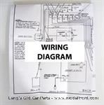 Model T Wiring diagram for the Improved Car. - 5039B