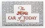 Model T The Ford Car of Today 1927, Brochure - FSL1927