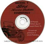 Model T T1-CD - T Ford Service Manual on CD-ROM