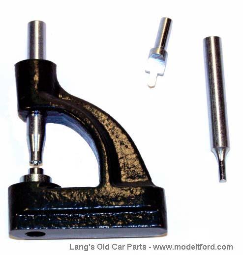 Brake Rivet Press : Model t riveting tool for brake linings rvtl