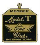 A-FCWST - Model T Ford Club International Window Sticker