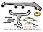 Model T Manifold replacement kit, complete for intake and exhaust - 3060KIT