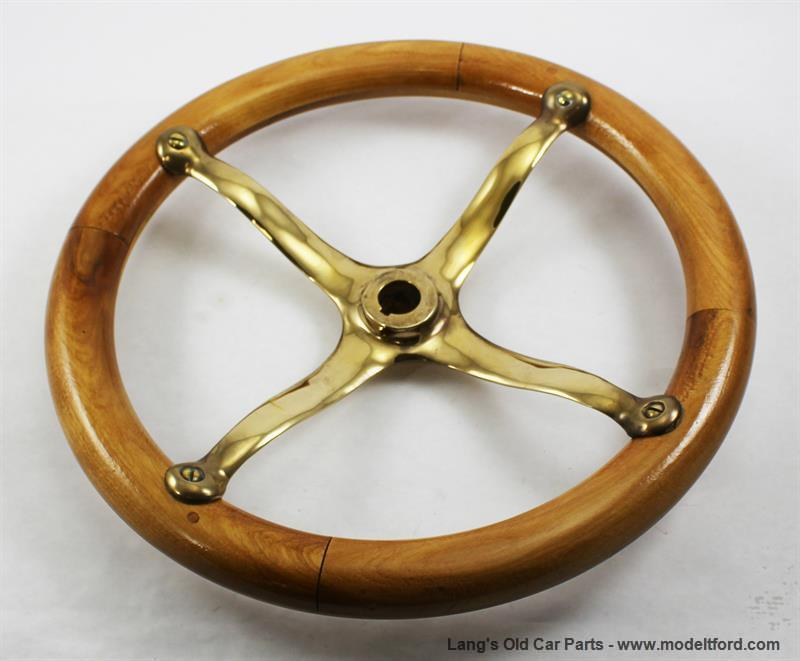Model a steering wheel