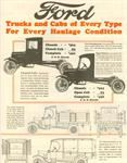 Model T Ford Truck Brochure - FTB