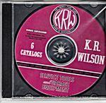 Model T K.R. Wilson Service Tools & Garage Equipment, 6 Catalogs CD-ROM Disc - KRW-CD