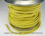 Model T Yellow wire, 12 gauge cloth covered, sold by foot - 5042WY