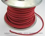 Model T Red wire 14 gauge cloth covered sold by the foot - 5042WR