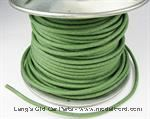 Model T Green wire 14 gauge cloth covered sold by the foot - 5042WG