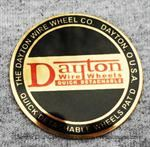 Model T Badge for Dayton wheel cap, later style - 2881LB
