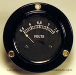 Model T Voltmeter, 6 volt, for use with an alternator - 5016-6V