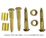 Model T Wheel spacer and screw set, - SP-WSE1