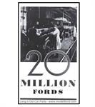 Model T Story of the 20 Million Fords from 1903-1931, Brochure - FSL28