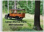 Lang's Old Car Parts 2017 Model T Calendar - 2017CALENDAR
