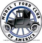 Model T Ford Club of America - double sided windshield sticker - A-FCS