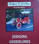 Model T Judging Guideline, 7th edition - JG1