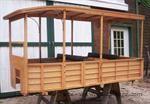 Model T Depot Hack Body, Wooden, Oak - BODY-DH