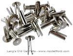 Model T Nickel  rivets for hood lacing - 4060N