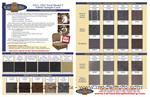 Sample card of top, upholstery and carpet material for Model T's - SAMPLE-T1