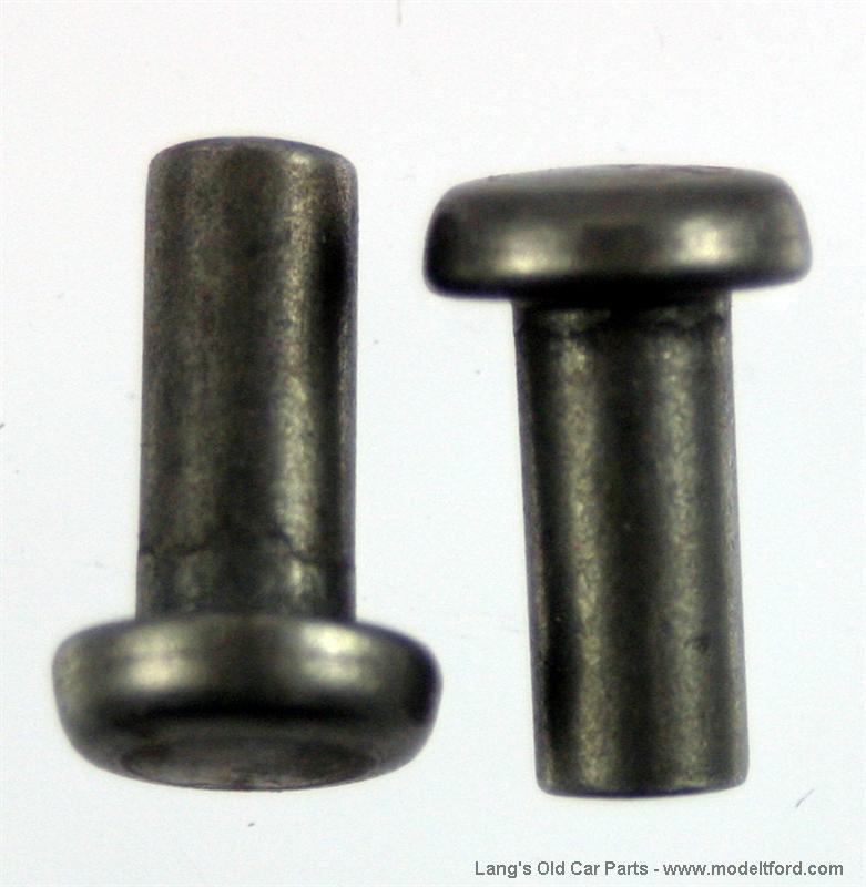 Model T Brake Rivet Tool : Model t rivets for hand brake release handle