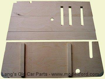 Model T Front Floorboards For Coupe And Tudor Plywood 3626cb