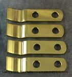 Model T 3635DWBR - Dash to windshield brackets, brass