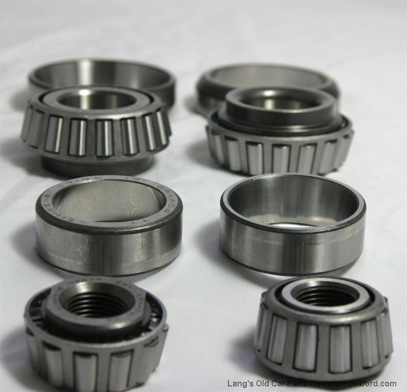 Timken bearing and race set, for hubs