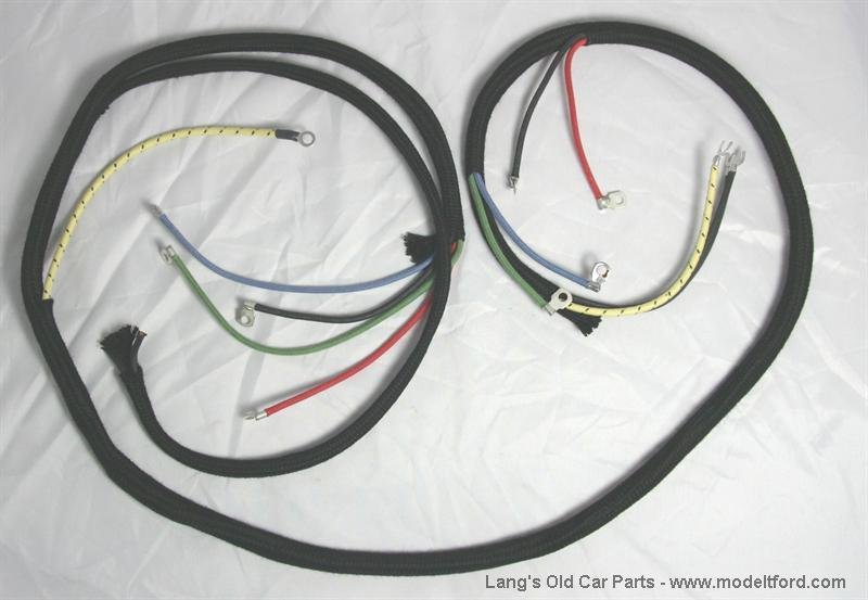 Spark Plug Wire Harness - Wiring Diagrams on