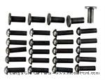Model T Frame Front cross member rivet set LATE style. - 2853RIVL