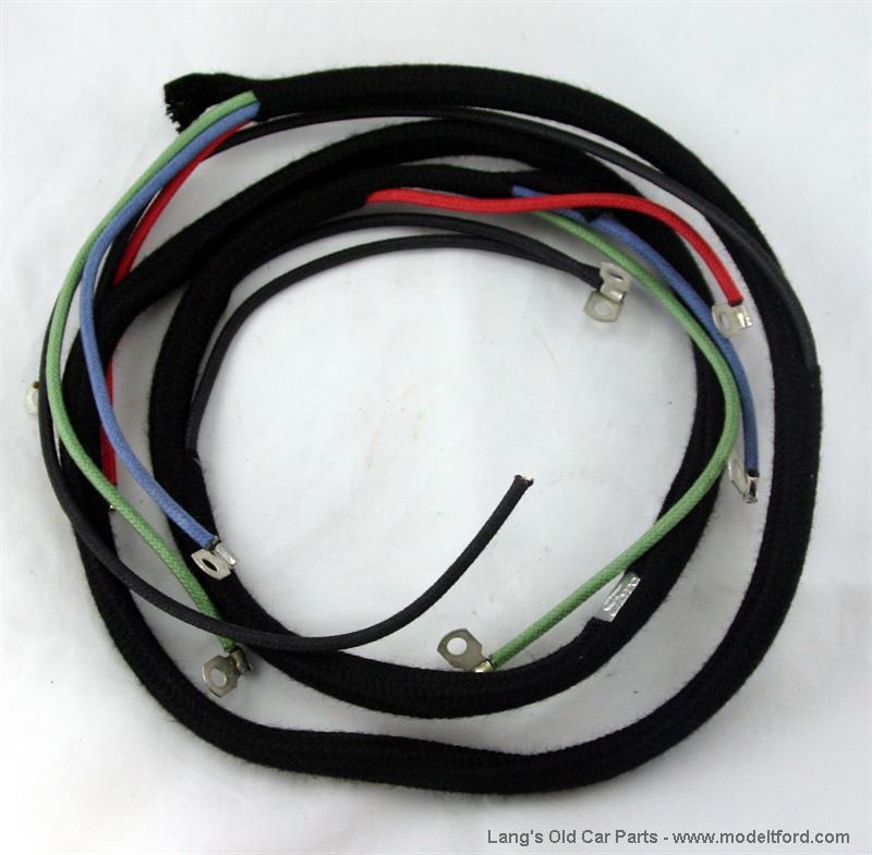 model t commutator wire harness, (5 wire) original style - 5030