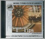 """T"" Tips DVD - How to start and drive a Model T - DVD-7-1"