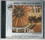 """T"" Tips -Model T Accessories DVD - DVD-7-2"