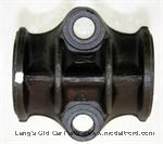 Model T Rebabbitted rear main bearing cap, standard size. - 3031STD
