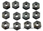Model T Special thick head Steel Hex Nuts for Fords - B-NUT-3657