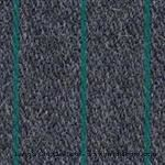Model T Upholstery kit for a 1926-27 Fordor. GRAY soft weave with thin GREEN stripe - UCC4B27-UT4X2