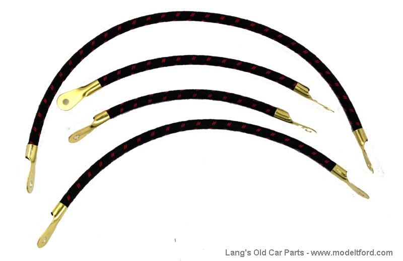 model t wiring set, show quality, original style wires, ws2or Model T Coil Diagram model t 5029or original color and style spark plug wires