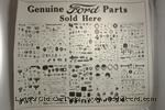 "Model T A-POST - Genuine Ford Parts"" Poster"